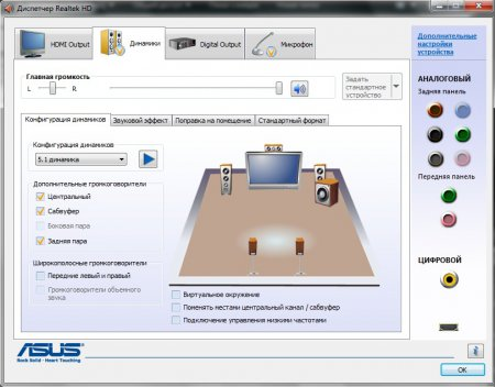 Realtek HD Audio Drivers (Realtek High Definition Audio Drivers) R 2.81 - звуковой драйвер Реалтек
